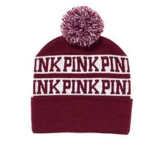 Pink by VS Winter Hat